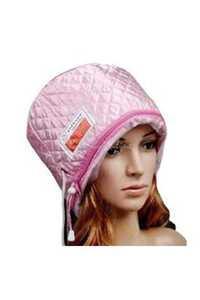 القبعة الحرارية لعمل حمام الزيت و كريم الشعر