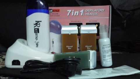 جهاز الواكس لإزالة الشعر بكل سهولة