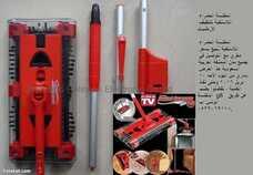 المكنسة الحمراء اللاسلكية لتنظيف الارضيات
