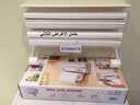 حامل الاغراض الثلاثي يستخدم في ترتيب وتنظيم ادواتك في المطبخ بسهولة