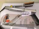 مكواة الشعر الدوارة بفرشاة لفرد الشعر بتقنية جديدة للحصول على شعر ناعم وجذاب