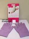 قفازات تنعيم اليدين قفازات الجل السحرية يستخدم لتقشير الجلد الميت تماما