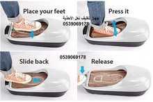 جهاز تغليف نعل الأحذية بالنايلون باستخدام الحرارة خلال ثواني قليلة