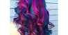 الاقراص الملونة للشعر للحصول علي خصلات شعر ملونه وشكل جذاب
